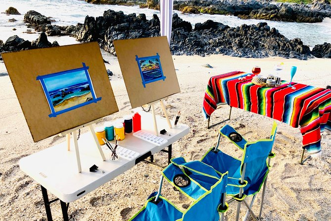Outdoor art courses and craft beer tasting.