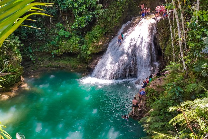 Ocho Rios Highlights, Blue Hole Secret Falls, and Jerk Stop from Falmouth photo 3