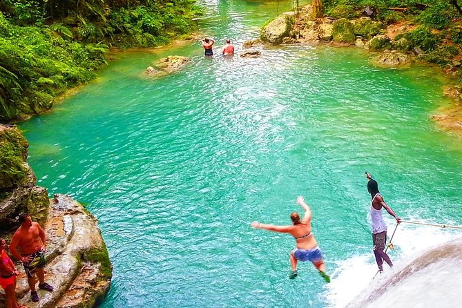 Ocho Rios Highlights, Blue Hole Secret Falls, and Jerk Stop from Falmouth photo 2
