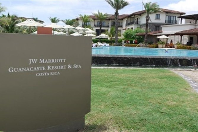 Private Shuttle Service From Liberia Airport To JW Marriott Guanacaste