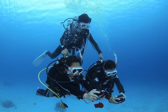 【Okinawa/Kerama】Introductory diving 2 dives & Snorkeling with Free Camera Rental