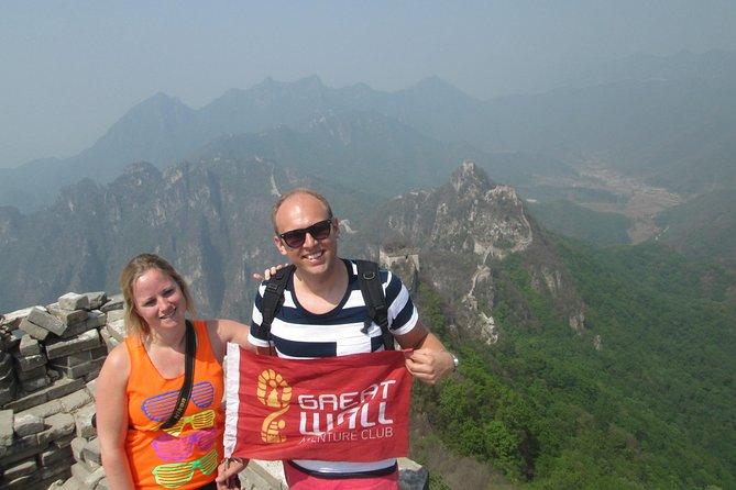 Jiankou to Mutianyu Great Wall Private Day Hike in English