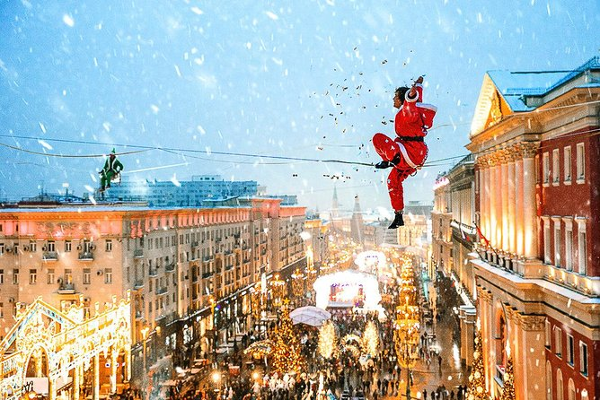 Christmas and New Year's in Moscow