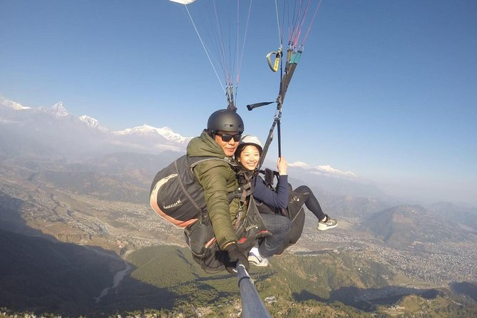 Pokhara Paragliding Guided Private Day Tour
