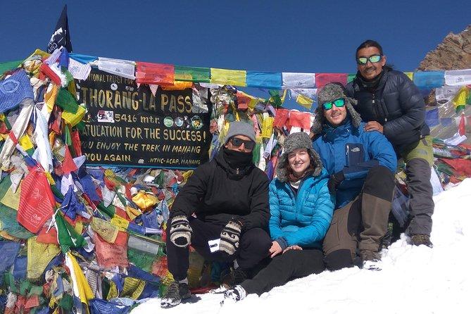 Annapurna Circuit Thorong Pass Trekking