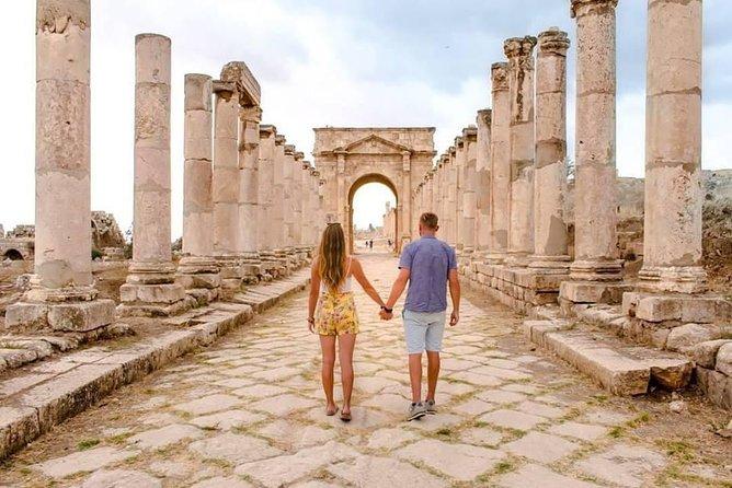 4 Days Private Tour: Petra, Wadi Rum, Dead Sea, Jerash , Ajloun, Madaba, Karak