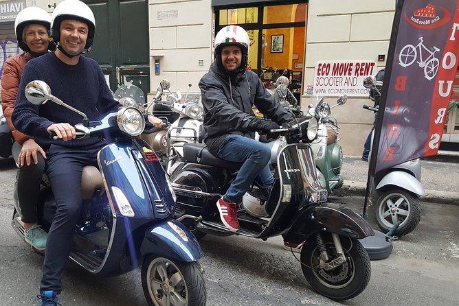 Vespa Self Drive Tour Secret Rome 3/4 hours
