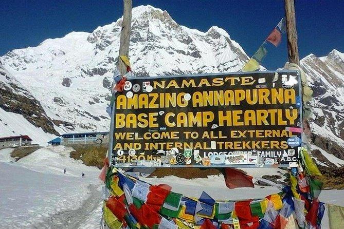 5 Days Annapurna base camp trek from Pokhara