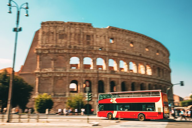 Exclusive Colosseum Express Guided Tour and Open Bus Tickets
