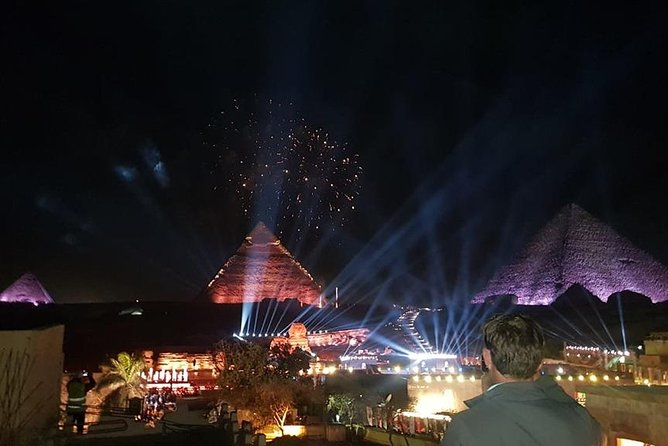 Sound and Light Show at the Pyramids with dinner