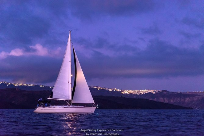 Santorini Private Sunset Sailing Tour with Dinner, Drinks &Transfer included