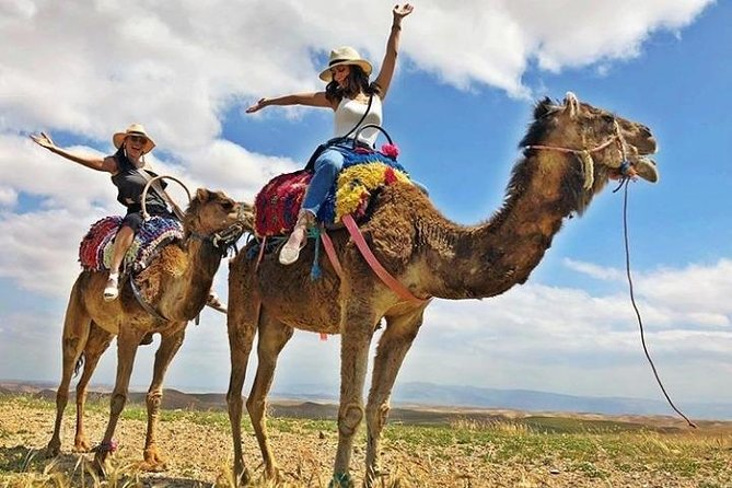 Desert Agafay and Atlas Mountains & Camel ride Day Trip private From Marrakech