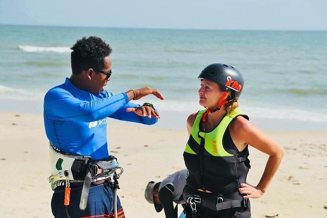 Kitesurfing lessons with experienced IKO Instructors, Equipment rentals