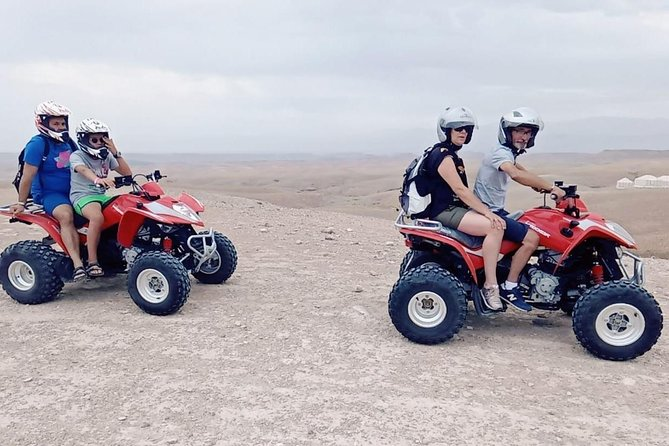 Quad Bike at Agafay-Extreme ATV adventure from Marrakech