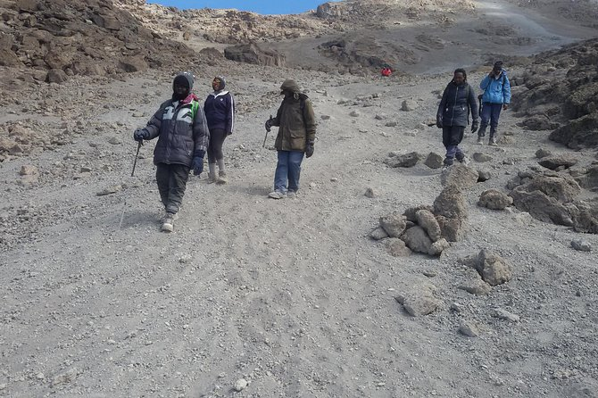 4 Days Mt Kenya Climb, Chogoria Route up and out Sirimon route