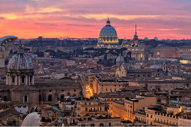 Private Tour Rome By Night with Limo Service