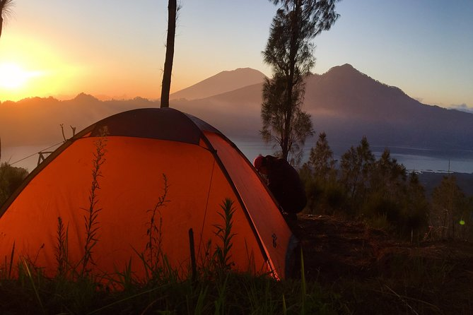 Caldera Camping W/ Sunset and Sunrise with 2 Volcanos view