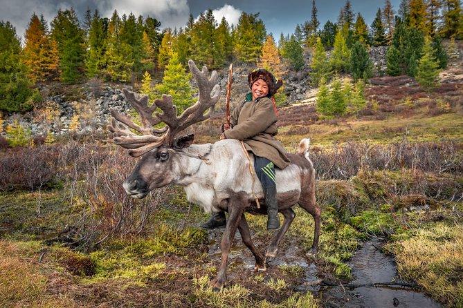 Reindeer and Tsaatan People