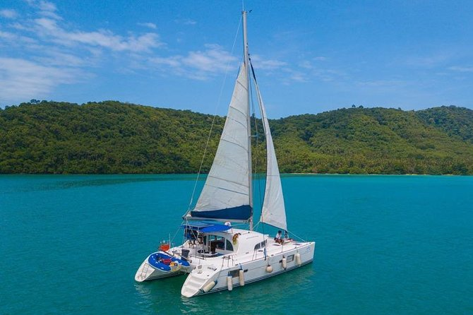 Racha and Coral Island One Day Trip + Sunset by Luxury Catamaran From Phuket