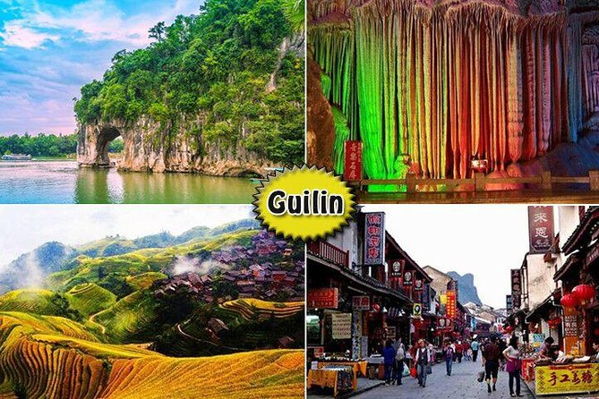 [5days 4nights] Amazing Shanghai Guilin Tour from/back to Beijing by air + train