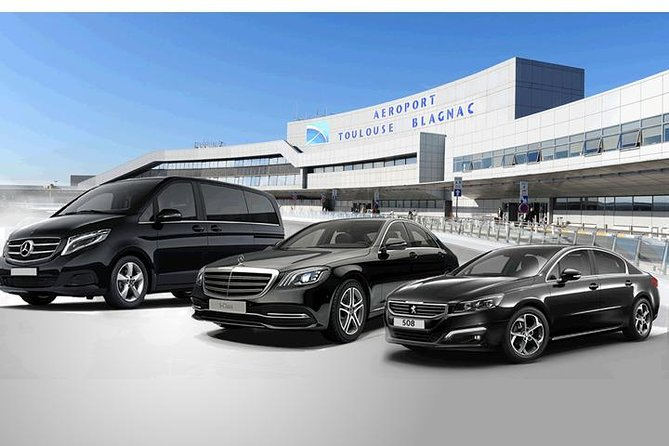 VTC transfer from Toulouse-Blagnac Airport to your destination in Toulouse
