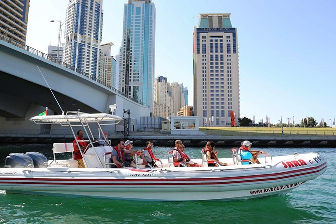 Private Tour : Modern Visions of Dubai - Marina boat Cruise and Dubai Frame