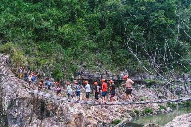 Wuzhishan Canyon Rafting Hainan Island