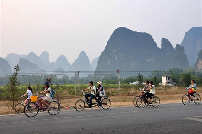 Yangshuo cycling one day tour with private guide photo 2