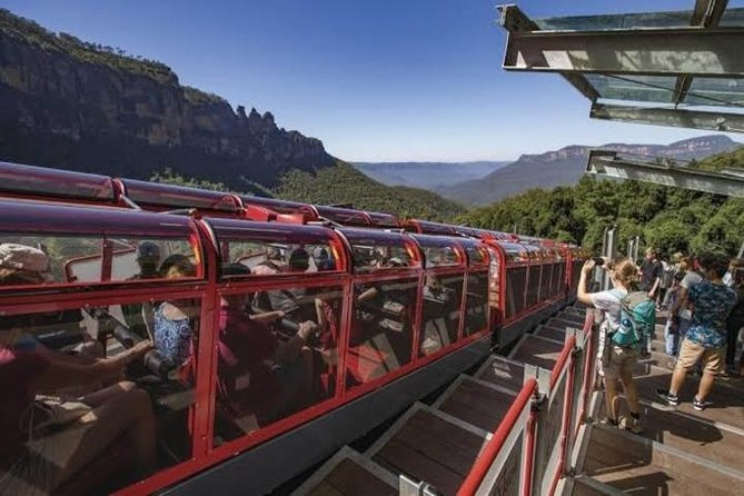 Private Blue Mountain Tour With Scenic World Ride & River Cruise + Lunch