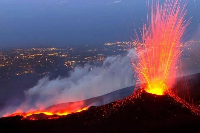 Top experience in the summit craters of Etna