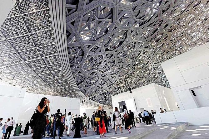 Louvre Tour - Abu Dhabi, an Arabic-Galactic Wonder photo 9