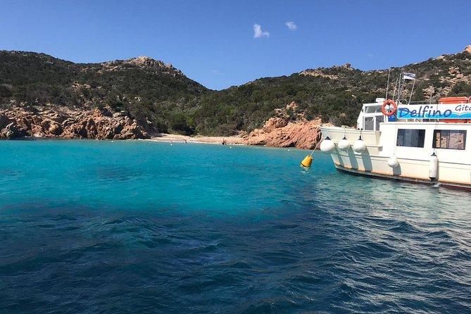 La Maddalena Archipelago boat tour with passage under the Caprera bridge