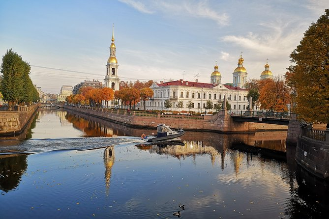 One day private tour in St Petersburg-Hermitage, St Isaac's and canal cruise