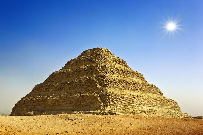 Cairo: Giza Pyramids ,Sphinx , Sakkara & Egyptian Museum Private Guided Tour