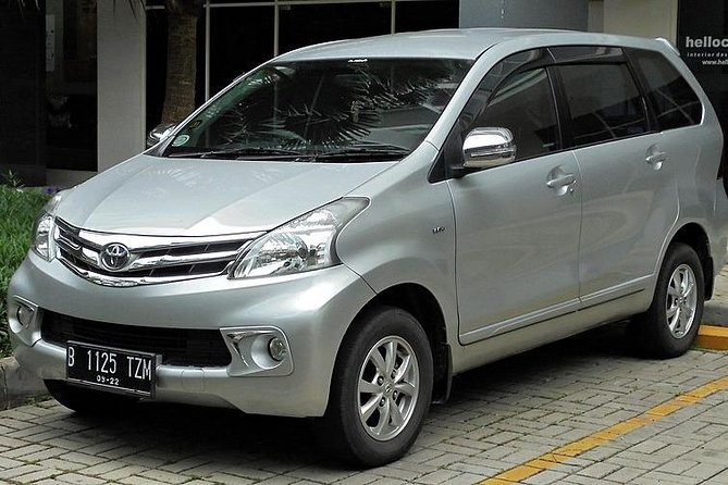 Private Car Rental Bandung 12 Hours