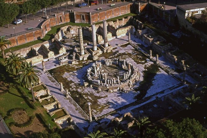 Naples / The Solfatara park / Temple of Serapide / Amphitheater Flavio (8hrs)