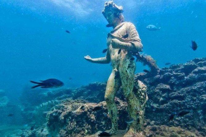 Baia Underwater Park, a diving Pompeii / Serapid Temple / Flavio Amphitheater (8hrs)