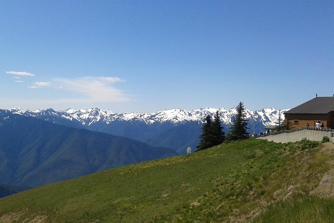 Hurricane Ridge Olympic National Park from Seattle