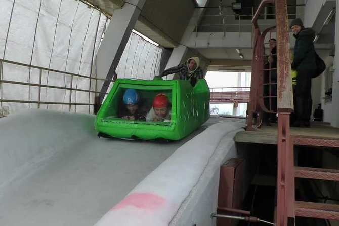 Latvia Bobsleigh and luge track ride experience