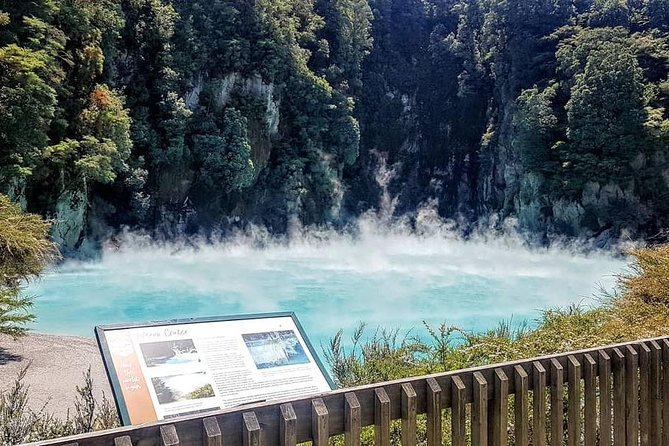 Rotorua Day Trip; Waimangu Volcanic Valley and the Blue Spring