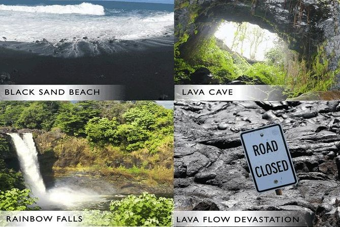 Hilo Shore Excursion: Volcano Safari Lava Caves, Falls & Highlights Small Group