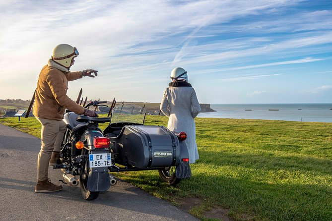 Day trip by sidecar to the landing beaches