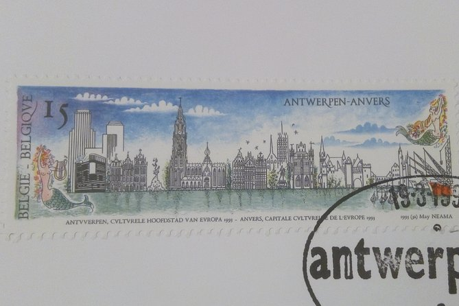looking for the origin of Antwerp - city walk (2 hours)