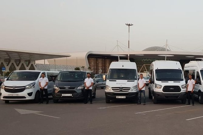 Traslado privado al aeropuerto de Marrakech