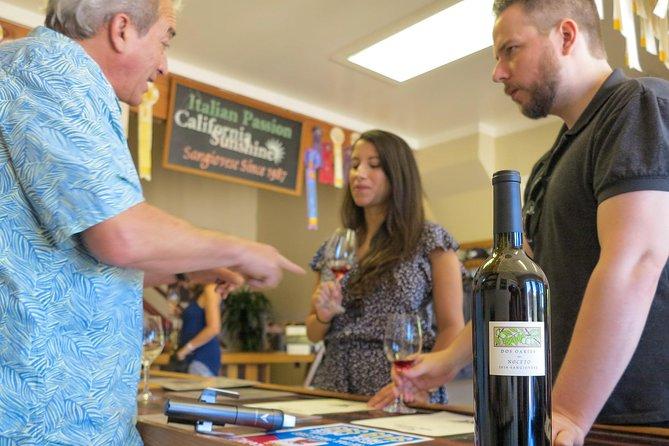Amador Wine Tour from Sacramento