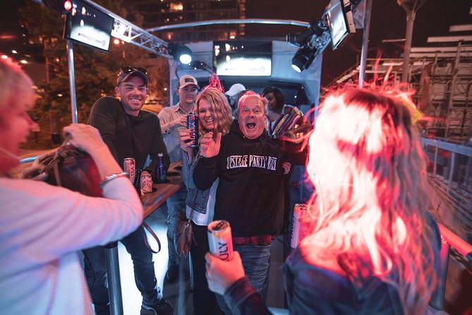 Private Nashville Open-Air Party Bus Tour with Onboard DJ & Bartender
