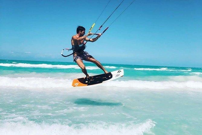 Kitesurfing lessons in Isla Holbox