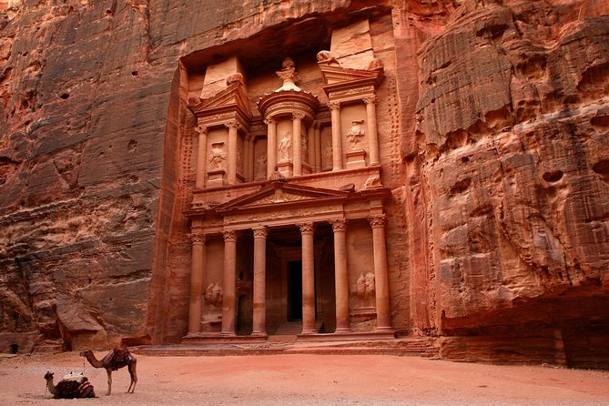 Petra, Wadi Rum, and Dead Sea 3-day Tour - from Amman