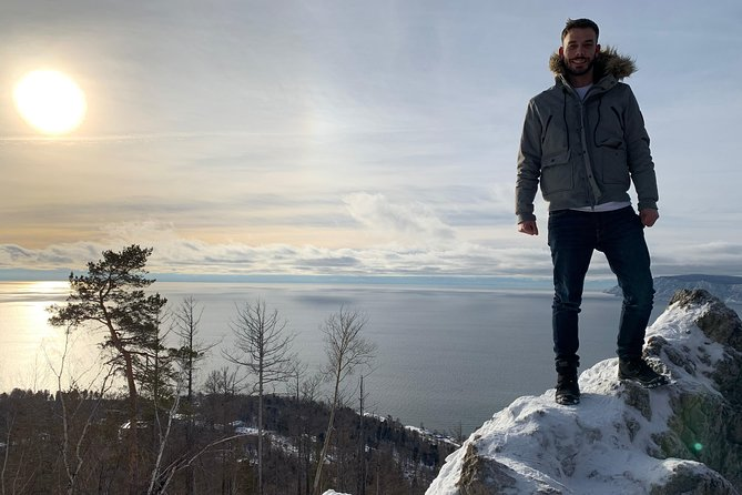 Day trip to Lake Baikal in Listvyanka on Ice of Baikal