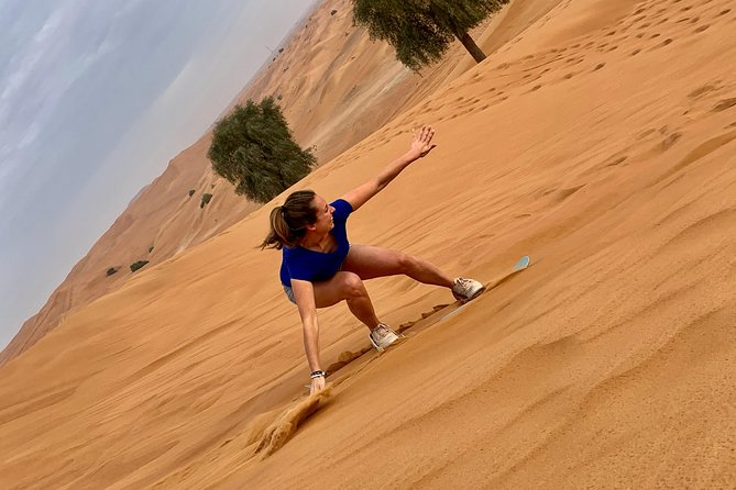 Morning Desert Safari - High Red Sand Dune Bashing,Sand boarding and Camel ride photo 9